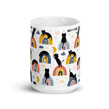 Load image into Gallery viewer, Rainbow Cat Mug | Cat Coffee Mug