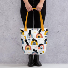 Load image into Gallery viewer, Rainbow Cats Tote Bag
