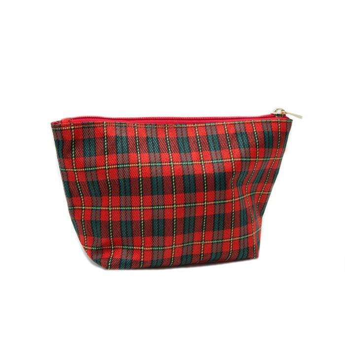 Red Plaid Scottie Bag