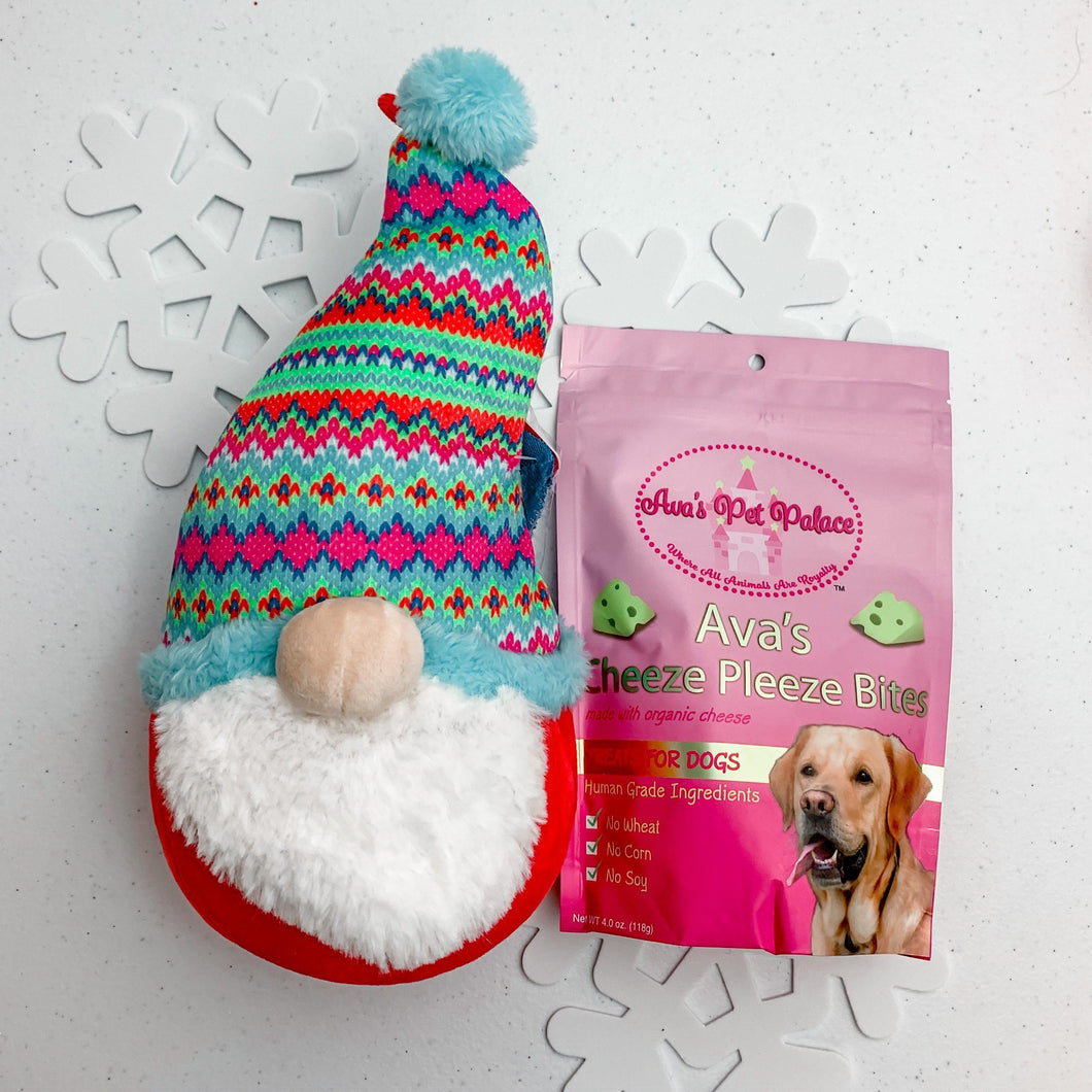 Holiday Gift Pack - Dog Toy + Treat