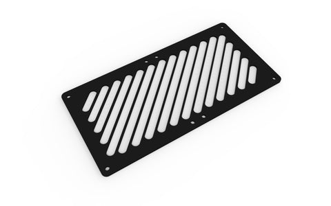 240mm Fan Grill (45º Stripes)
