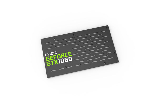Nvidia GTX 1060 Backplate (Reference PCB)