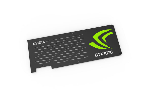 Nvidia GTX 1070 Backplate (Reference PCB)