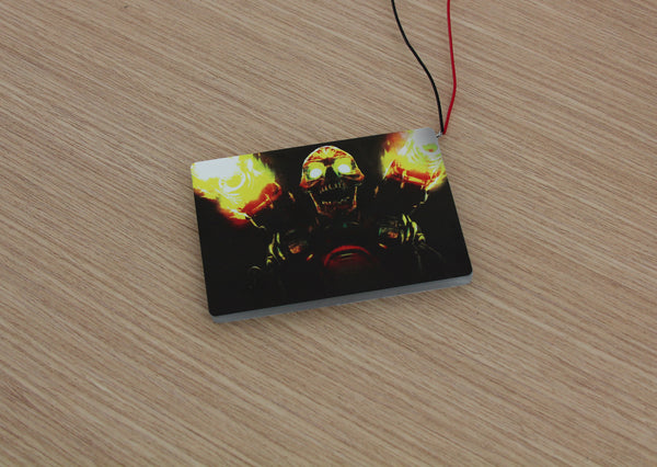 Illuminated SSD Cover (Doom - Revenant)