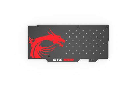 MSI GTX 1080 Gaming X 8GB Backplate