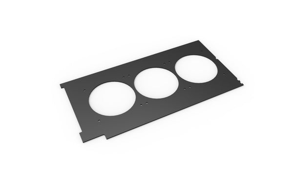 Corsair 600C Midplate (Rounded Holes for 120mm fans)