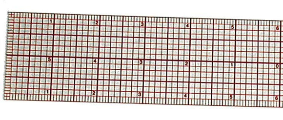 Westcott® C-Thru® Beveled Graph Rulers