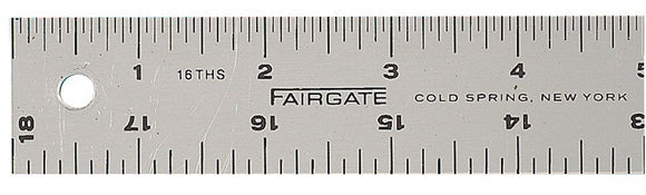 Fairgate® Cork-Back Aluminum Rulers - Modern School Supplies, Inc.