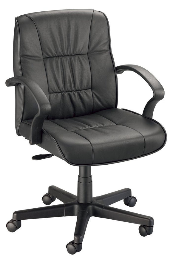 Alvin® Art Director Executive Leather Chair Office Height - Modern School Supplies, Inc.
