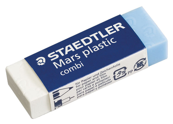 STAEDTLER® Mars® Plastic Combi Pencil & Ink Erasers - Modern School Supplies, Inc.