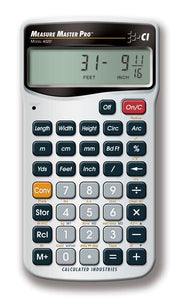 CALCULATED INDUSTRIES® Measure Master® Pro Calculator