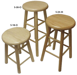 HANN™ Hardwood Stools - Modern School Supplies, Inc.