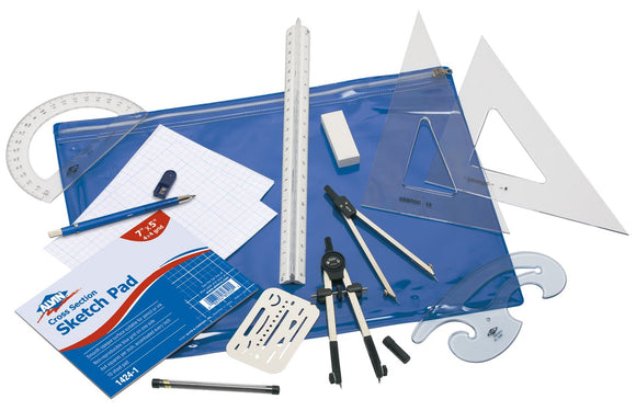 Alvin® Basic Beginners Drafting Engineers Kit - Modern School Supplies, Inc.