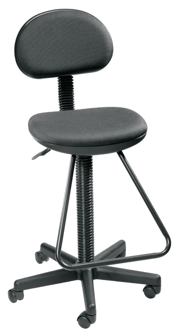Alvin® Black Economy Drafting Height Chair - Modern School Supplies, Inc.