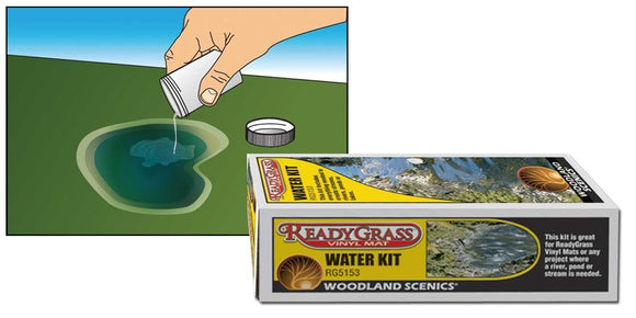 Woodland Scenics® ReadyGrass Water Kit