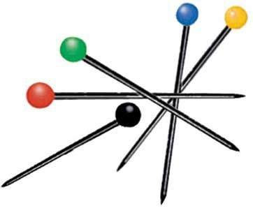Pins & Grip Pins – Color Ball Pins