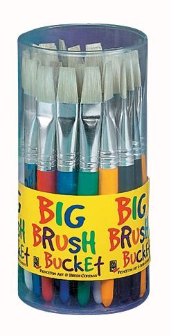 Princeton™ Big Brush Bucket Display