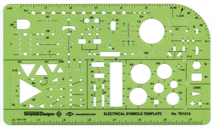 ALVIN® Electric/Electronic Template