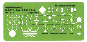 ALVIN® Electrical Controls Template - Modern School Supplies, Inc.