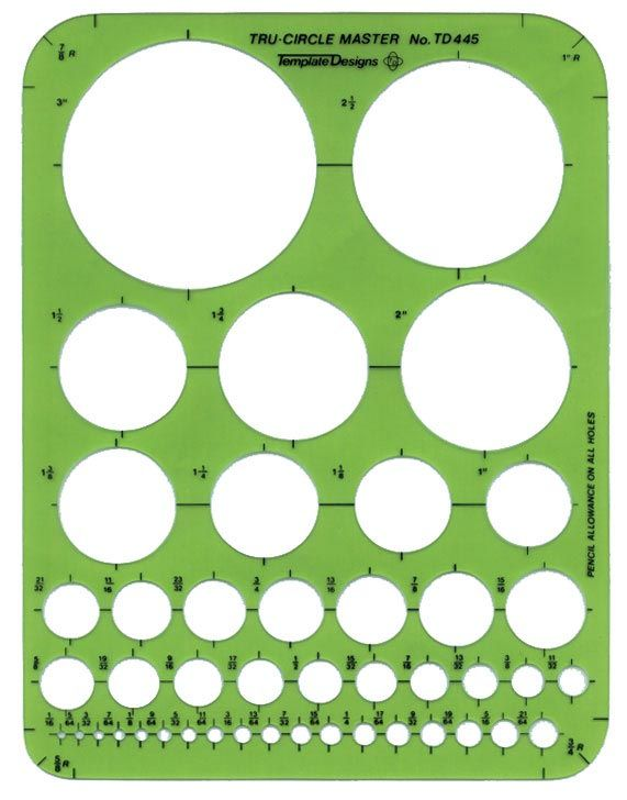 ALVIN® Circle Master Templates - Modern School Supplies, Inc.