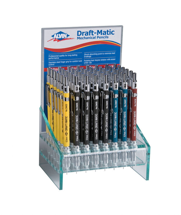Alvin® Draft-Matic Mechanical Pencil Display - Modern School Supplies, Inc.