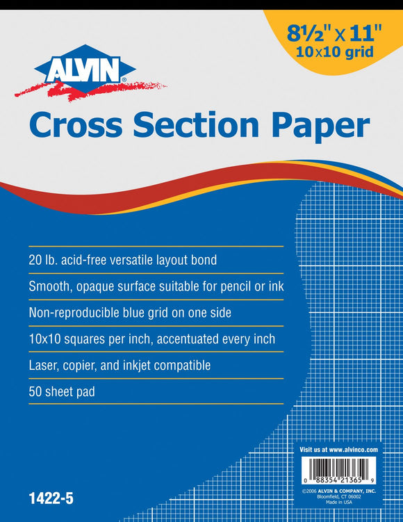 ALVIN® Cross Section Papers