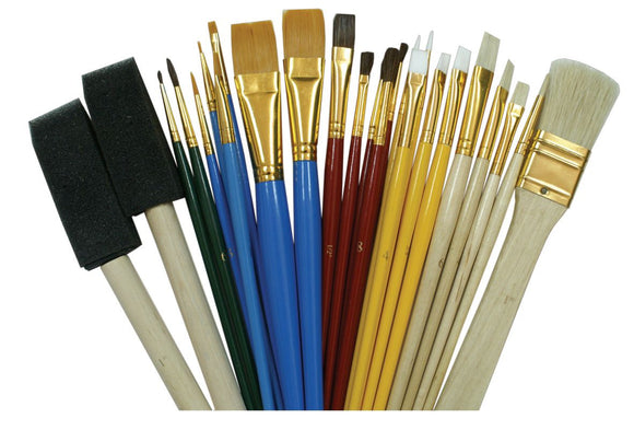 Heritage Arts™ Craft Brush Value Pack - Modern School Supplies, Inc.