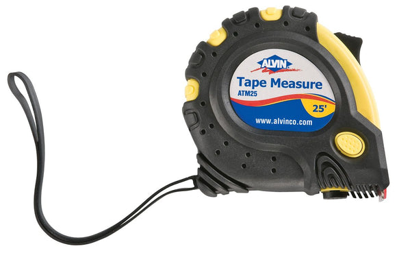 Alvin® 25' Tape Measure - Modern School Supplies, Inc.