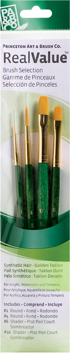 Princeton™ RealValue Brush Sets