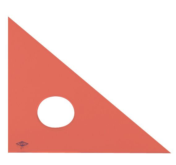 ALVIN® Professional Acrylic Triangles - Modern School Supplies, Inc.
