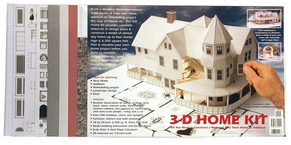 DESIGN WORKS® 3-D Home Kit