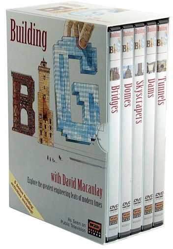 PBS® Building Big with David Macaulay Boxed DVD Set - Modern School Supplies, Inc.