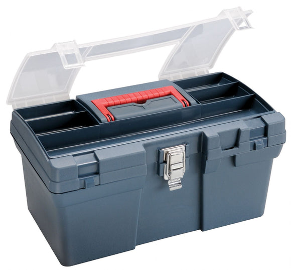 Heritage Arts™ Medium Art Blue Tool Box