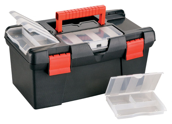 Heritage Arts™ Medium Art Black Tool Box