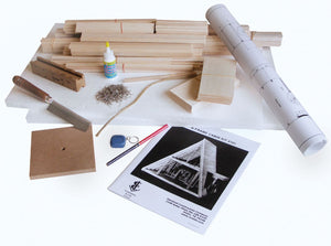 Midwest A-Frame Cabin Balsa Kit