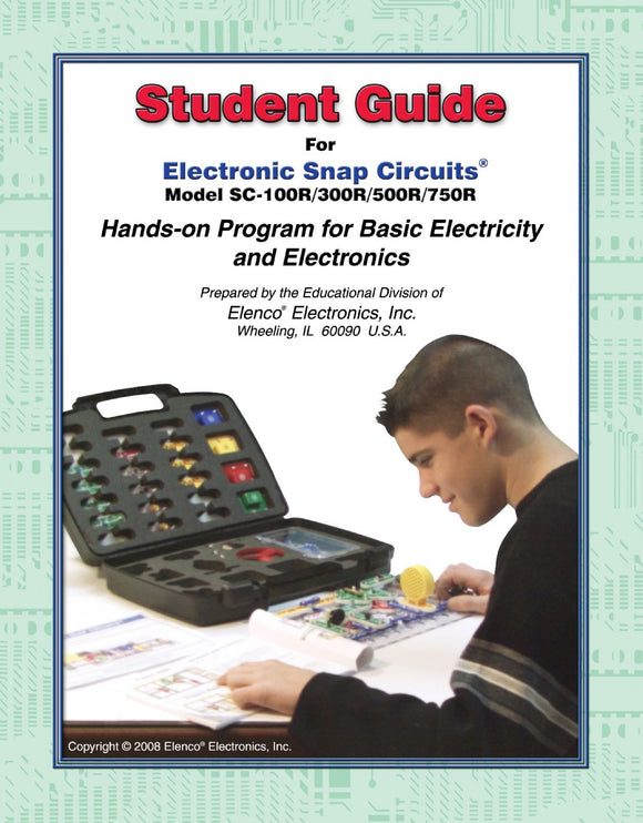 Elenco® Teacher & Student Guides for Snap Circuits