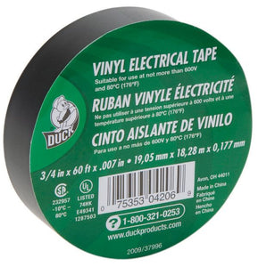Duck Tape® Low Lead Vinyl Electrical Tape - Modern School Supplies, Inc.