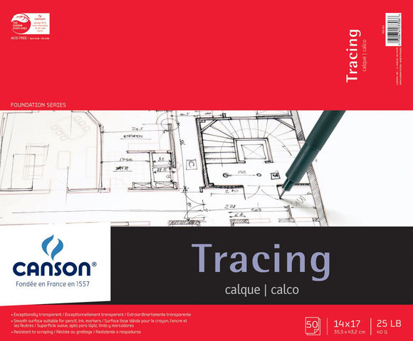 Canson® Foundation Series Tracing Paper - Modern School Supplies, Inc.