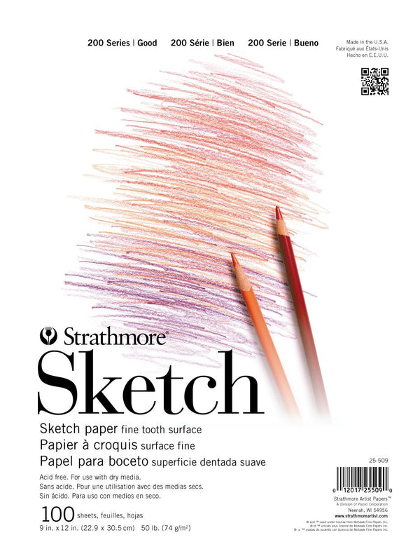 Strathmore® 200 Series Sketch Pads