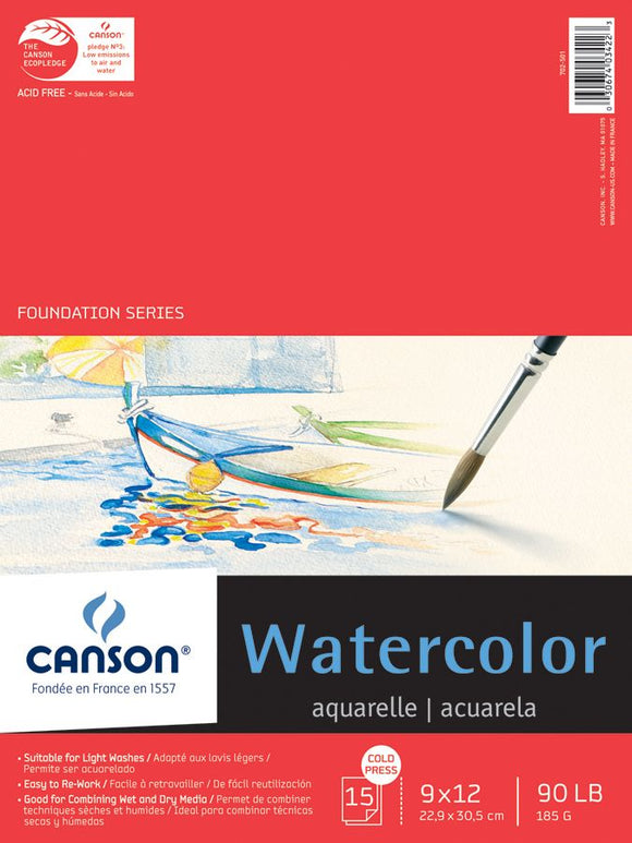 Canson®Foundation Series Watercolor Paper - Modern School Supplies, Inc.
