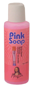 Mona Lisa™ Pink Soap Brush Cleaner - Modern School Supplies, Inc.