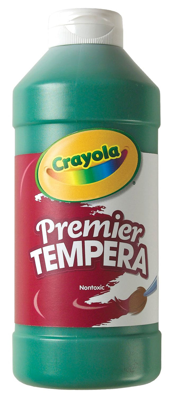 CRAYOLA® Premier Tempera Paints GREEN – CLEARANCE