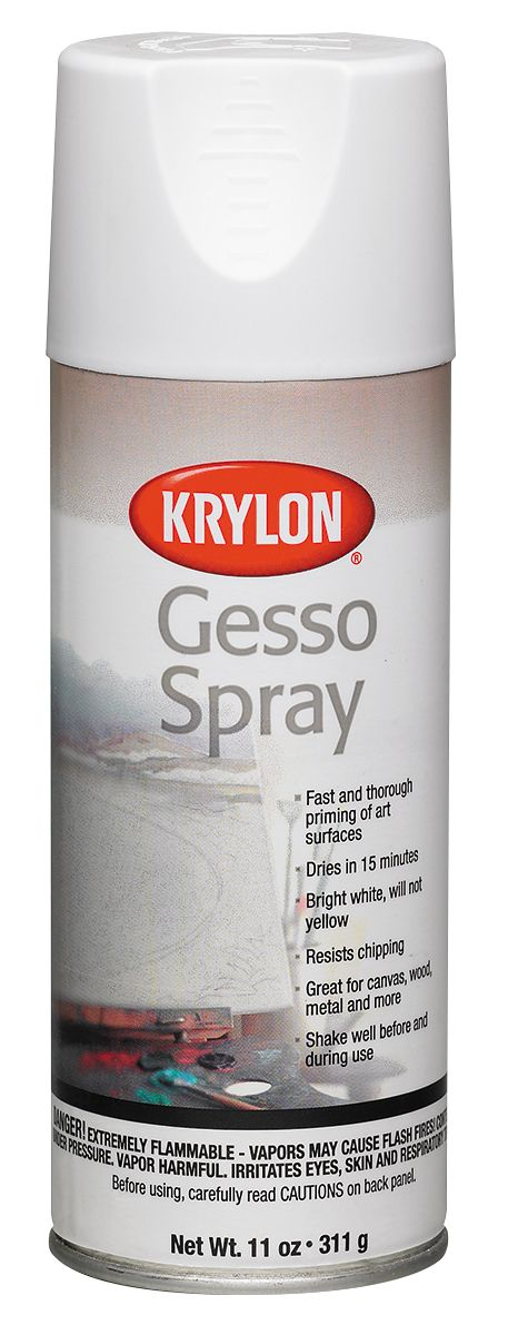 Krylon® Gesso Spray - Modern School Supplies, Inc.