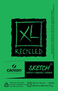 Canson®XL® Recycled Sketch Pads