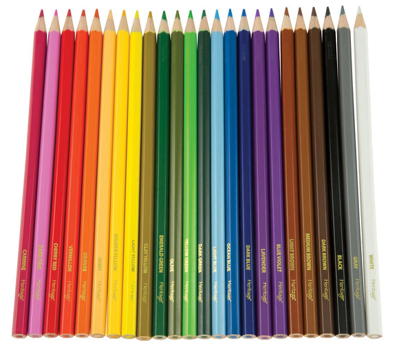 Heritage Arts™ Colored Pencil Sets - Modern School Supplies, Inc.