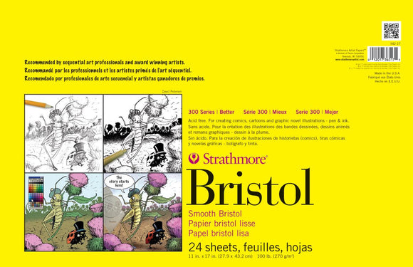 Strathmore® 300 Series Sequential Art Bristol Paper