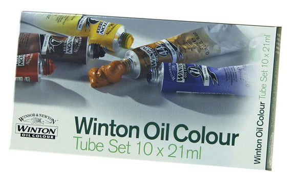 Winsor & Newton™ Winton Oil 10-Color Basic Set