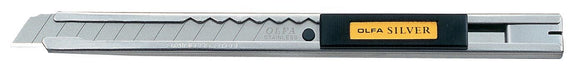 Olfa® Silver Deluxe Utility Knife