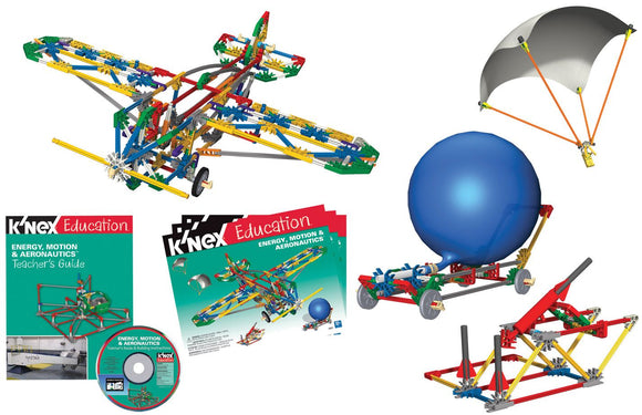 K'NEX® Energy, Motion & Aeronautics Set - Modern School Supplies, Inc.