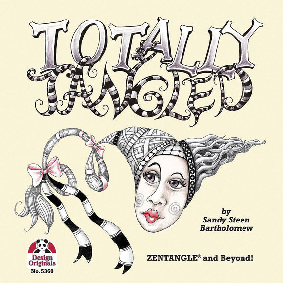 ZENTANGLE® Totally Tangled Book – CLEARANCE